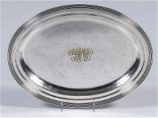 315 Barbour Silverplated Tray