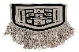 14: Tlingit Chilkat Child's Blanket