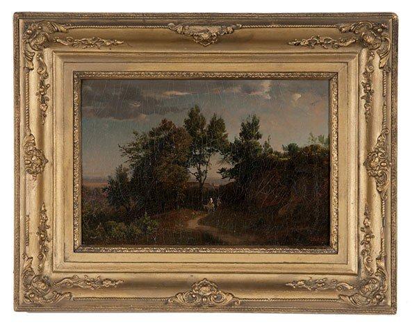 1: Landscape by Johann Wilhelm Schirmer, Oil on Canvas