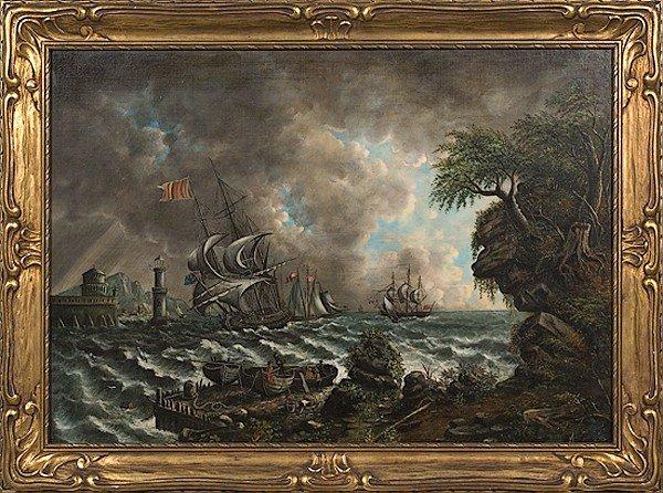 11: Marine Scene, Poss in the Hand of AC van Scoter