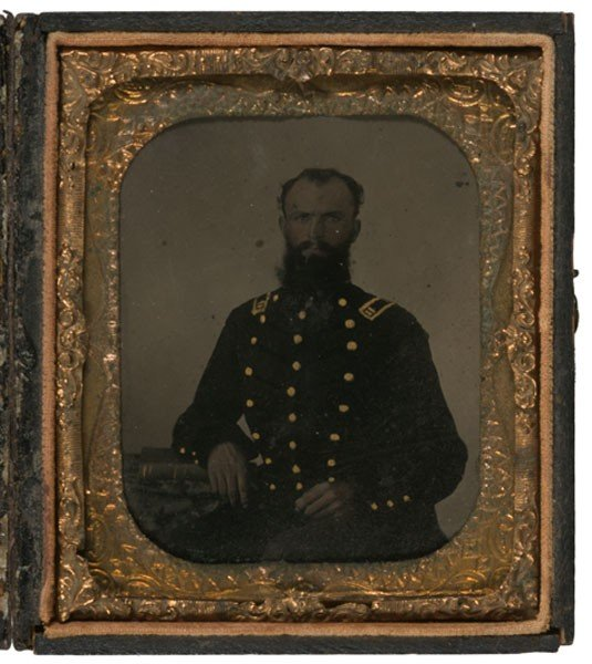 13: Sixth Plate Tintype of Confederate Trans-Mississipp