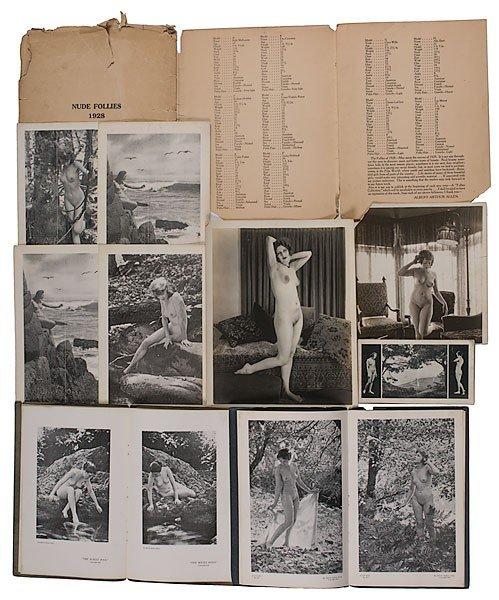 183: Albert Arthur Allen Collection of Nude Photographs - 2