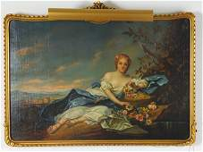 121: AFTER FRANCOIS BOUCHER (FRANCE) OIL PAINTING