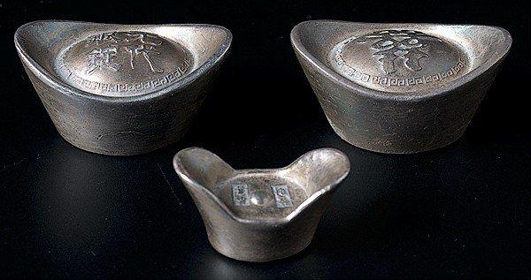 1404: Chinese Silver Ingots