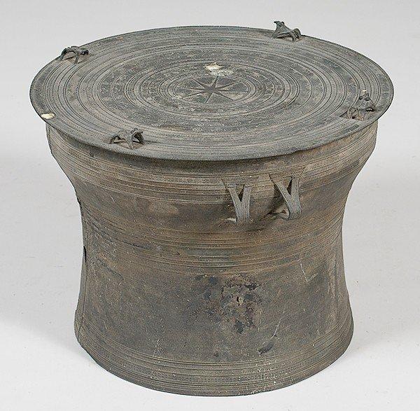 1408: Chinese Bronze Rain Drum
