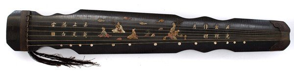 1413: Chinese Guqin Seven Stringed Zither