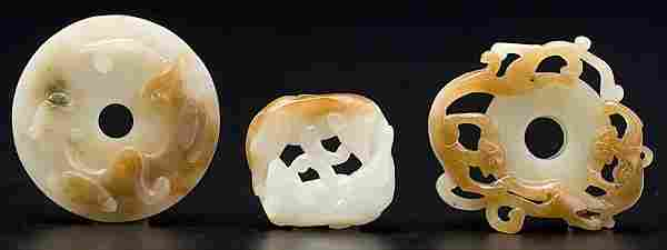 1660: Chinese Carved Jade Articles