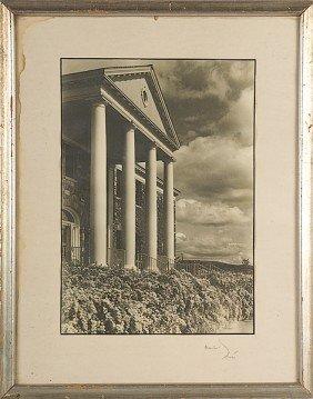 1: Margaret Bourke-White Signed Silver Print