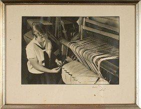 2: Margaret Bourke-White Signed Silver Print