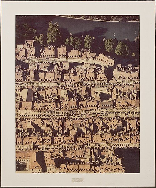 4: Cityscape by Georg Gerster, Photograph