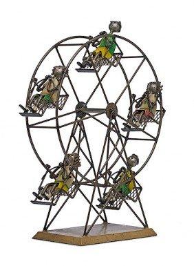 16: Ferris Wheel by Manuel Felguerez, Welded Steel and