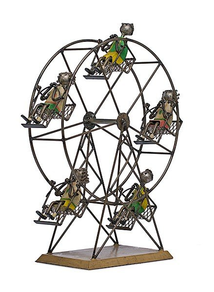 16: Ferris Wheel by Manuel Felguerez, Welded Steel and