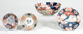 18: Japanese Imari Bowls and Plate