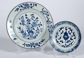 22: Japanese Blue and White Plates