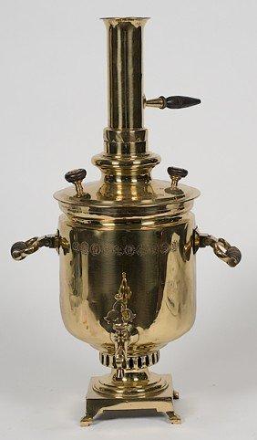 96: Russian Brass Samovar