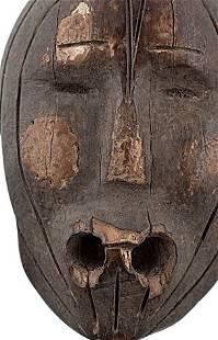Eskimo Fossilized Ivory Figural Float Plug