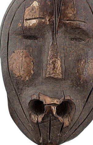 2: Eskimo Fossilized Ivory Figural Float Plug