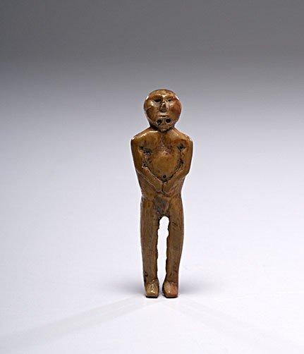 3: Eskimo Fossilized Ivory Figure