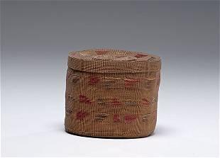 Tlingit Rattle-top Basket