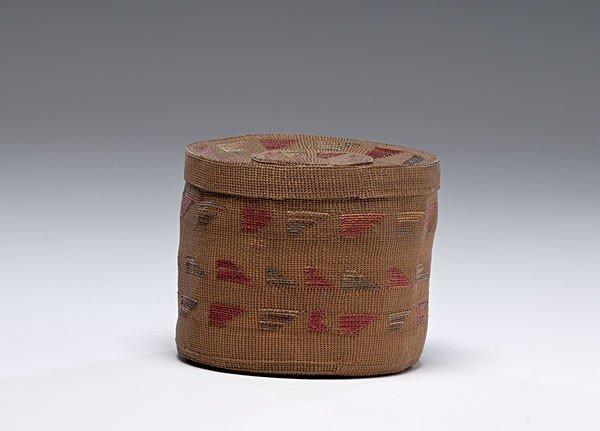 13: Tlingit Rattle-top Basket