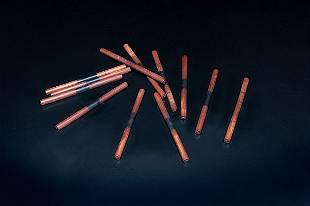 Tlingit or Tsimshian Wooden Gaming Sticks