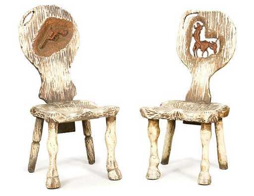 - 104: Dr. Harley Niblack Vintage Western Chairs