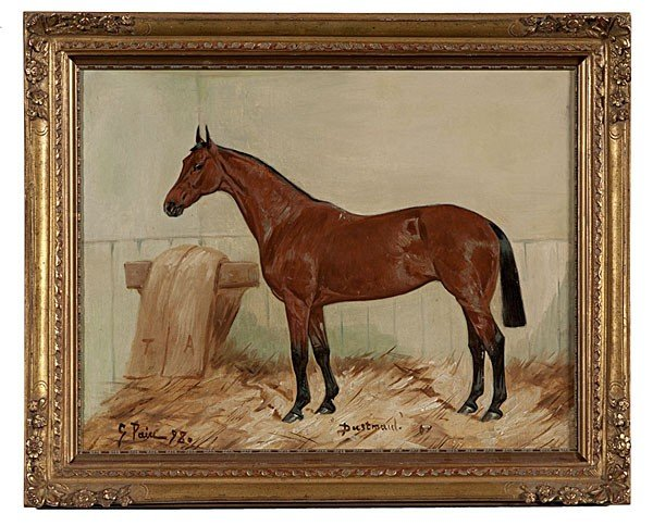 10: Horse Portrait by George Paice, Oil on Canvas
