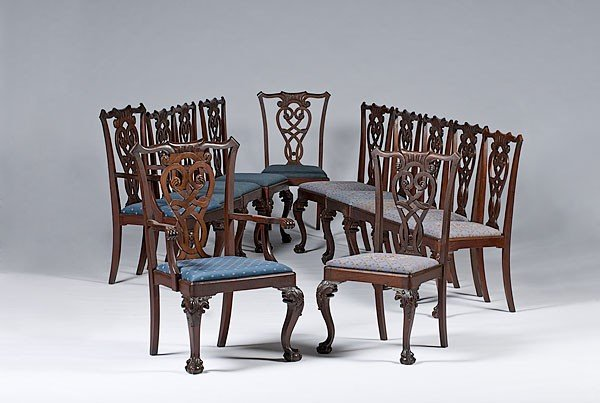 20: Chippendale-style Chairs