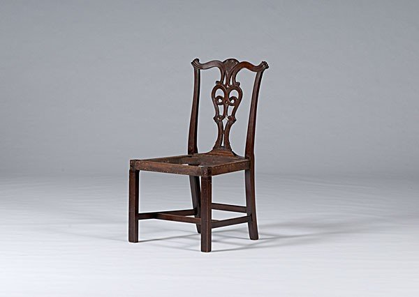 22: Newport, Rhode Island, Chippendale Side Chair