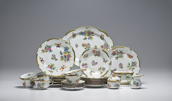 339: Herend Tablewares
