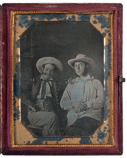 2: Mexican War Daguerreotype of Captain Wm. H. Chapman