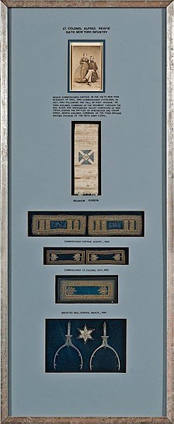 18: Archive of Lieut. Col. Alfred Neafie, 156th NY Infy
