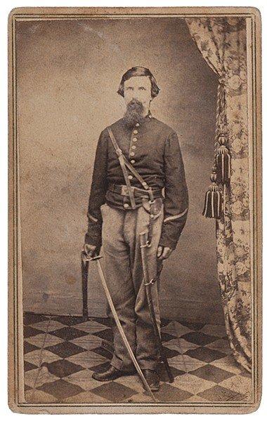 20: Civil War-Era CDV Album, Peter M. Yawger, MIA