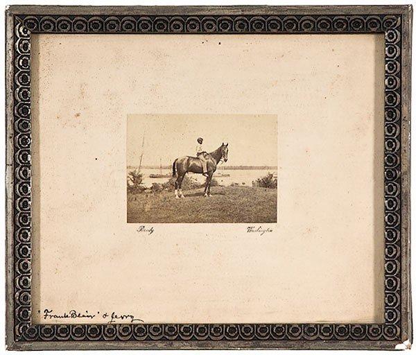 32: Mathew Brady Photo of Gen. John A. Rawlins' Horse
