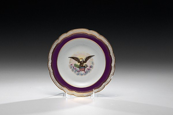 178: Soup Bowl From First Lincoln White House Service