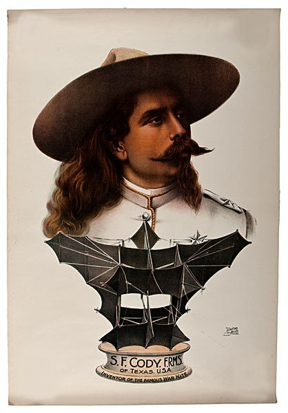 342: S.F. Cody, Inventor of the Famous War Kite Poster