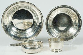 1: Sterling Silver Bowls