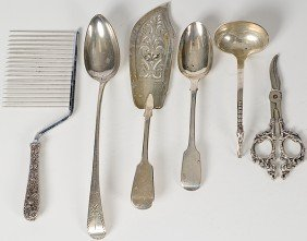 11: Sterling Silver Serving Pieces