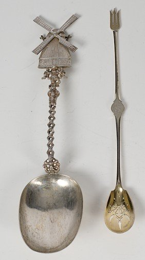14: Sterling Silver Spoons