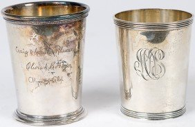 20: Manchester Sterling Julep Cup, Plus