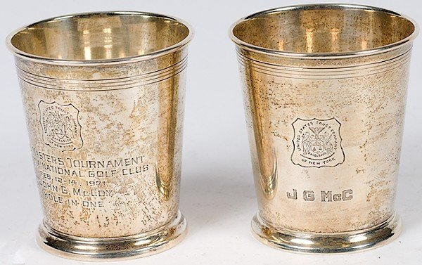 21: Reed and Barton Sterling Julep Cups