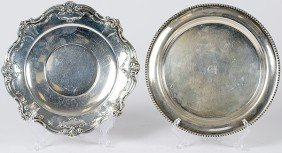 22: Sterling Silver Trays
