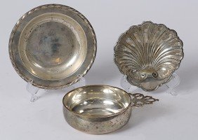 24: Sterling Silver Dishes