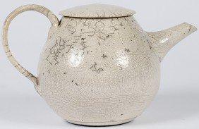 Raku Teapot By Nancee Meeker�