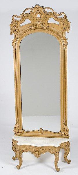 Rococo Revival Pier Mirror�