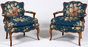 Louis XV-style Fauteuils�