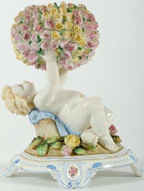 Dresden-Style Porcelain Figure�
