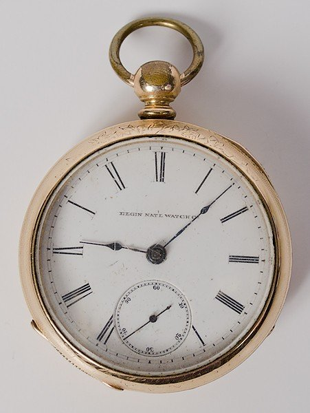 222: Elgin Pocket Watch