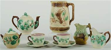 357 Majolica Tea Service