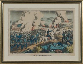 498: Gibson & Co., The Battle of Antietam, MD